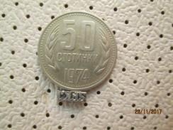 BULGARIA 50 Stotinki 1974 # 5 - Bulgaria