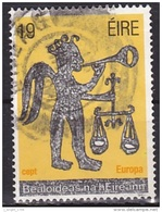 Ireland (1981):- Europa CEPT/The Angel & Scales Of Judgement (19 P):- USED - Used Stamps