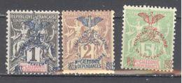 Nouvelle Calédonie: Yvert N° 67-68-71*; Cote 24.00€ - Nouvelle-Calédonie