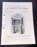 """Brochure Cucina - Chieregatti - """"Salamandra"""" Per Gratinare - Vecchi Documenti"""