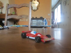 BU16 Majorette, Ferrari 312 12, 1/50, Made In France - Cars & 4-wheels