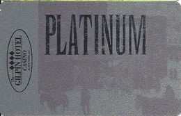 Gilpin Casino - Black Hawk, CO - BLANK Platinum Slot Card - Reverse Text 30mm High - Casino Cards