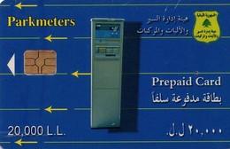 TARJETA TELEFONICA DE LIBANO (CHIP). (718) - Lebanon