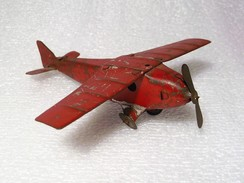 Jouet Ancien - Petit Avion En Tôle Penny Toy - Airplanes & Helicopters
