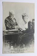 Foto Cartolina Arciduca Raineri Ferdinando Con La Moglie Maria Carolina 1909 - Fotos