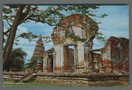 V402 THAILAND THE FAMOUS RUINS FO WAT RAJBURANA FP (m) - Tailandia