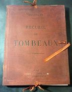 Architettura Funeraria - Boussard - Recueil Des Tombeaux - Tavole - 1880 Ca. - Libros, Revistas, Cómics
