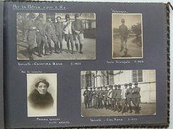 Album 127 Foto Famiglia Militaria Vercelli Roma 1900 - Foto