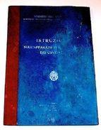 Aeronautica Istruzione Appar. Controllo Contagiri 1934 - Documenti