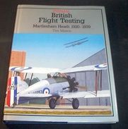 Aeronautica Aviation Aircraft British Flight Testing 1920-1939  Ed. 1993 Putnam - Unclassified