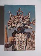 SOUTH AFRICA AFRIKA AFRIQUE DU SUD RICKSHA BOY IN FULL DRESS 1960 YEARS PC Z1 - Postcards