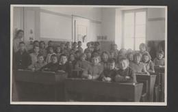 CHILDREN SCHOOL REAL PHOTO POSTCARD SWITZERLAND BIERE BIÈRE VAUD MORGES - Postcards