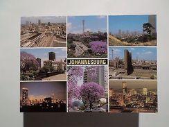 SOUTH AFRICA AFRIQUE DU SUD SUID AFRIKA JOHANNESBURG MULTI VIEWS 1960years PC Z1 - Postcards