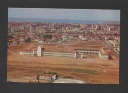 Postcard AFRICA ANGOLA LUANDA 1960ys  Industrial School Aerial  View Xx - Unclassified
