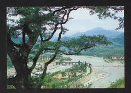 POSTCARD CHINA DUJIANGYAN SICHUAN PROVINCE  Year 1998 - China