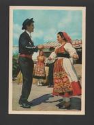 POSTCARD 1950 Years VIANA DO CASTELO FOLK DANCES FOLKLORE MINHO PORTUGAL - Postcards