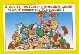 ART POSTCARD COMICS COMIC ASTÉRIX LA ZIZANIE - Comics