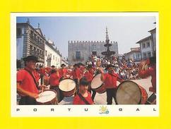 Postcard PORTUGAL VIANA DO CASTELO MUSIC DRUM FOLKLORE - Postcards