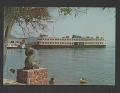 BRASIL 70s BRAZIL BOAT ARRIVAL PAQUETA ISLAND RIO DE JANEIRO Boat Boats  PAQUETÁ - Postcards