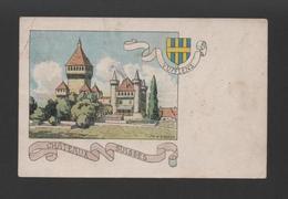 POSTCARD GRUSS SWITZERLAND Year 1900  VUFFLENS CHATEAUX SUISSES SUISSE CASTLES - Postcards