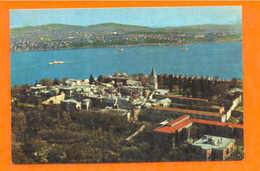 TURKEY TURQUIE ISTANBUL GOLDEN HORN & GALATA BRIDGE 60s - Postcards
