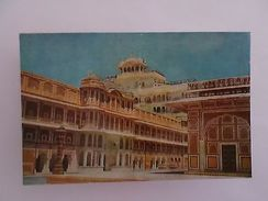 ASIA ASIE INDE INDIA CHANDRA MAHAL PALACE 1960 YEARS POSTCARD Z1 - Postcards