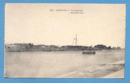 Postcard AFRICA EGYPT KANTARA SUEZ CANAL GENERAL VIEW 1910s  AFRIKA AFRIQUE - Postcards
