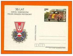 POSTCARD POLOGNE POLAND POLSKA CLASSIC AUTOMOBILE 35 LAT CARS CAR VOITURES - Postcards