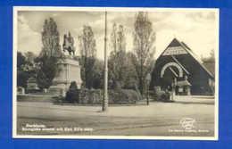 POSTCARD SVERIGE SWEDEN STOCKHOLM & BIOLOGICAL MUSEUM - Postcards