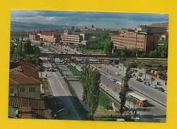 POSTCARD TURKEY 60ys TURQUIE ANKARA SIHHIYE BOULEVARD OF ATATÜRK Cars Bus Buses - Postcards