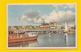 POSTCARD & 2 STAMPS SWEDEN SVERIGE  GOTEBORG GÖEBORG & Boats Year 1953 - Postcards