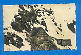 Pc SWITZERLAND ALPS ALPES BERGHAUS VIEW 1920/1930 Years SUISSE - Postcards
