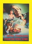 ART POSTCARD Year 1996 MOVIE CINEMA A BETTER TOMORROW CRIME IN HONG KONG CHINA - China