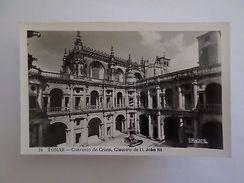 Postcard 1950s TOMAR TEMPLAR CONVENT  CONVENTO DE CRISTO PORTUGAL Z1 - Postcards