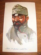 Cartolina Militaria Copricapo Uniformi Arlon 1914 - Regiments