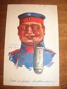 Cartolina Militaria Copricapo Uniformi Lille 1914 - Regiments