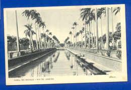 BRAZIL POSTCARD BRASIL RIO DE JANEIRO CANAL DO MANGUE 1940 Years - Postcards