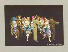Pc PORTUGAL AZORES AÇORES S. MIGUEL FOLK DANCE FOLKLORE - Postcards