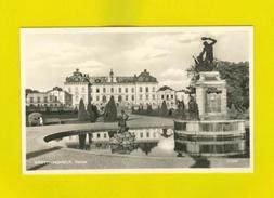 REAL PHOTO POSTCARD SWEDEN SVERIGE DROTTNINGHOLM 1950s - Postcards