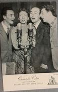 Foto Cartolina Quartetto Cetra Disco D'oro 1954 Ed Publifoto - Fotografia