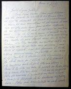 Autografo Lettera Melis Carmen Cantante Attrice 1964 - Autografi