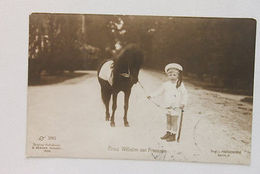 Foto Cartolina Principe Wilhelm Di Prussia Bambino 1908 - Monarchia - Photographs