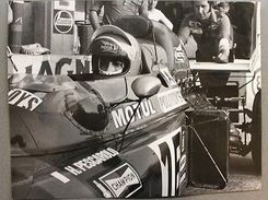 Automobilismo - Fotografia Henri Pescarolo 26 - March Ford 711 - 1971 Formula 1 - Fotografia