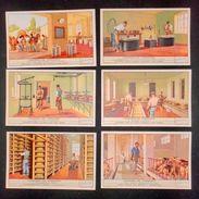 Figurine LIEBIG - L'industria Del Formaggio - Rif.  N° 1457 - Liebig