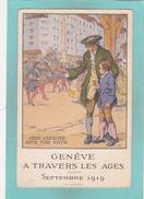Old Postcard Of Geneve A Travers Les Ages, Switzerland,V38. - GE Geneva