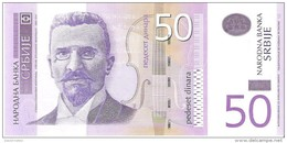 Serbia  - Pick 40 - 50 Dinara 2005 - Unc - Serbie