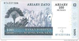 Madagascar - Pick 86b - 100 Ariary 2004 - Unc - Madagascar