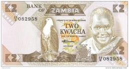 Zambia - Pick 24c - 2 Kwacha 1980-1988 - Unc - Zambie