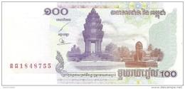 Cambodia - Pick 53 - 100 Riels 2001 - Unc - Cambogia