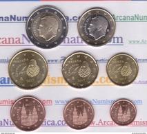 ESPAÑA Set/Juego/Tira  8 Monedas/Coins €URO 2.017  2017  SC/UNCirculated  T-DL-12.053 - España